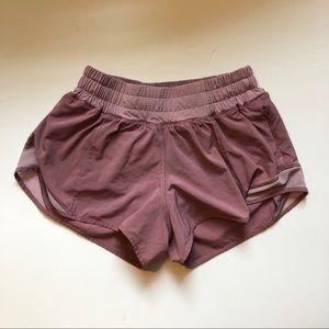 "Hotty Hot 2.5"" — size 2 pink/mauve"